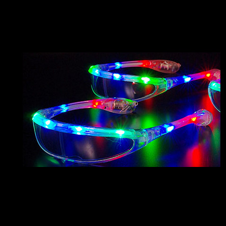 Gafas esqui LED multi color