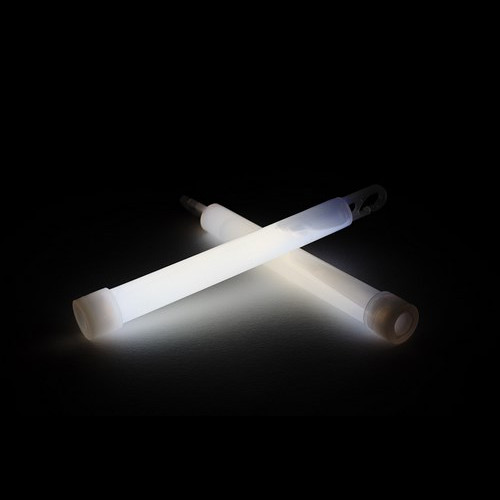 Glowsticks 15 cm blanco